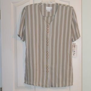 Vintage Pride & Joy striped tunic top Size 8P
